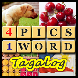 4 pics, 1 word tagalog